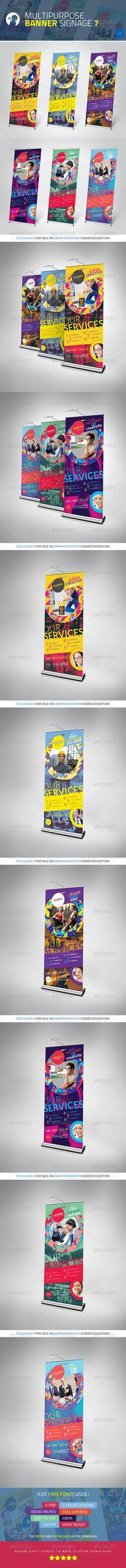 Multipurpose Banner Signage 7 - $6