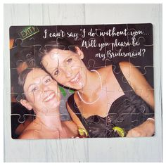 Personalised Bridesmaid proposal/ Maid of Honour by Zelsk on Etsy