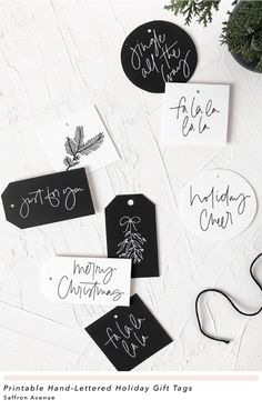 Free Printable Holiday Gift Tags to Uplevel Your Gifts is part of Holiday gift tags printable, Free printable holiday gift tags, Christmas gift tags printable, Free holiday gift tags, Holiday gift tag - Christmas Tags Printable, Free Printable Gift Tags, Holiday Gift Tags, Christmas Gift Wrapping, Christmas Cards, Christmas Gift Labels, Diy Gift Tags, Wrapping Gifts, Xmas
