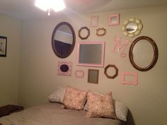My mirror wall