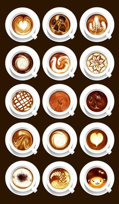 #Latte art #coffee    :*¨¨*:·Coffee ♥ Art·:*¨¨*:  bella-illusione.tumblr.com