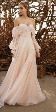 Fall Wedding Dresses, Princess Wedding Dresses, Woodland Wedding Dress, Autumn Wedding, Bridesmaid Dresses, Simple Wedding Dress With Sleeves, Dresses With Sleeves, Dress Sleeves, Ball Dresses