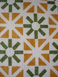 1961 Herman Miller napkin design by Alexander Girard; would make a great quilt design