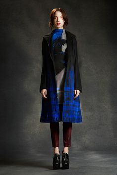 Clover Canyon | Fall 2014 Ready-to-Wear Collection.  Fabulous jacket. I would buy that in a heartbeat.