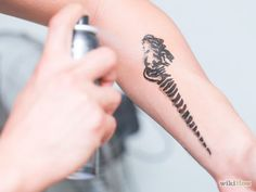 Image titled Make a Temporary Tattoo With Eyeliner Step 11