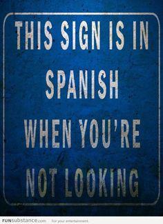 Que no hablo espanol