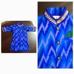 Ikkat silk kurta groom wear