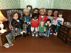 PennilessCaucasianRubbish American Doll Adventures: Boy Doll Posse at the Doll House