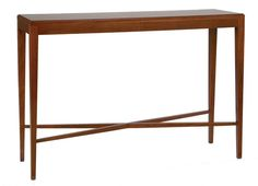 Mexico Console Table, Rich Mahogany