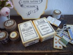 looking glass miniatures: Vintage Box Kits