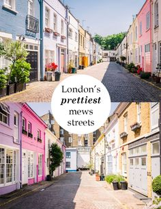 Discover cobbled lanes and colourful cottages in London's prettiest mews…