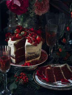 Kerst cake recept met bloemen Mooiwatplantendoen.nl