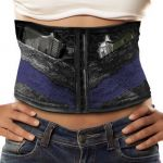 Concealed Carry Corset Holds Two Pistols