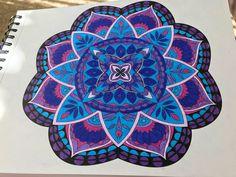 ColorIt Mandalas to Color Volume 1 Colorist: Debbie Christensen Seddell #adultcoloring #coloringforadults #mandalas #mandalastocolor