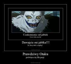 Śmieszkujemy z Anime ^^ Polish Memes, Anime Meme, Death Note, Wattpad, Otaku, Joker, Lol, Cosplay, Humor