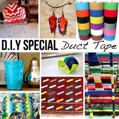 Duct Tape DIY - 10 Ideas & Tutorials!
