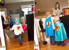 Fiesta infantil Super Héroes al estilo Vintage Pop Art | Embarazo, parto, bebés y todo lo relacionado con el mundo de los niños