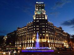 **Passeig de Gracia (high end shopping street, the Champs Elysee of Barcelona) - Barcelona, Spain