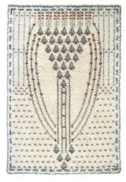 EVA by Eva Mannerheim-Sparre in A Finnish woven ryijy cloth rug from wool and linen. Size 110 cm x 160 cm. Weave one yourself or purchase it ready made from www. Scandinavian Embroidery, Rya Rug, Modern Tapestries, Rug Hooking, Scandinavian Design, Art Nouveau, Weaving, Carpet, Textiles