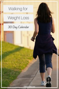 30 day printable calendar for walking to lose weight. Low impact exercise to lose weight after 40. #workouts #lowimpact #walking #womenshealth