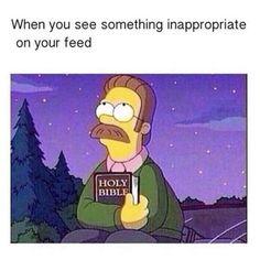 simpsons funny christian meme