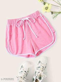 Shorts Vivient Women Pink Hosery Short Fabric: Cotton Pattern: Solid Multipack: 1 Sizes:  24 (Waist Size: 24 in Length Size: 12 in Hip Size: 16 in)  26 (Waist Size: 26 in Length Size: 13 in Hip Size: 18 in)  28 (Waist Size: 28 in Length Size: 14 in Hip Size: 20 in)  30 (Waist Size: 30 in Length Size: 15 in Hip Size: 22 in) Country of Origin: India Sizes Available: 24, 26, 28, 30   Catalog Rating: ★4.1 (1341)  Catalog Name: Stylish Unique Women Shorts CatalogID_1127425 C79-SC1038 Code: 542-7065685-996