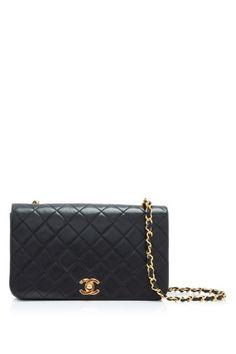 64dc5741bcf5 Vintage Pre-owned Chanel Lambskin Leather Shoulder Bag