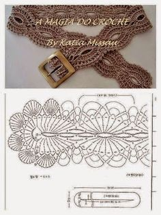 36 ideas for crochet free diagram ganchillo Crochet Diy, Crochet Belt, Bonnet Crochet, Mode Crochet, Crochet Motifs, Crochet Diagram, Crochet Woman, Crochet Chart, Crochet Stitches