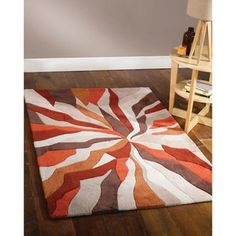 Covor portocaliu Splinter 160x220 cm