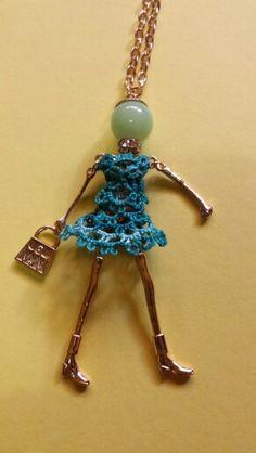 Esmeralda - bambolina in chiacchierino by Dodi