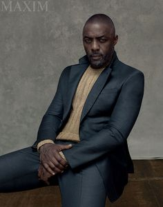 Check Out Idris Elba On the Cover of Maxim's September 2015 Issue | Maxim  Daaaaayum....