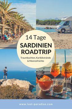 14 Tage #Sardinien  Roadtrip - Traumbuchten, Karibikstrände & Meeresfrüchte