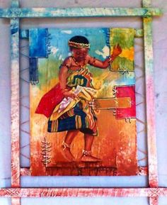 I love this painting, so vibrant. Check it out for your self at #idealsmarter