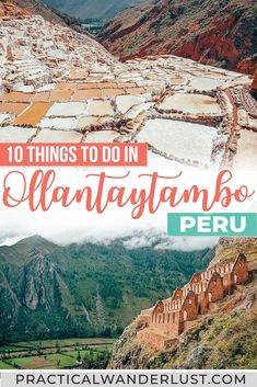The best Ollantaytambo, Peru things to do from Inca ruins to Machu Picchu to Quechua culture to the Sacred Valley! Machu Picchu, Peru Travel, Hawaii Travel, Italy Travel, Wanderlust Travel, Travel Usa, Cool Places To Visit, Places To Travel, Us Destinations