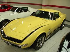 1969 Corvette ZL-1 427. One of two sold to the public.                                                                                                                                                                                 More