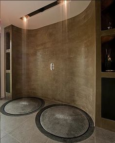These dual showers are visually striking! What do you think of the concept? #FindingYourPlace