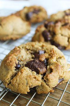 Receita de Cookies Infalíveis como os de NY | Blog Figos & Funghis