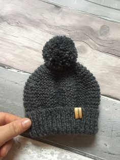 Excited to share the latest addition to my #etsy shop: Ready to Ship Hand knitted 0/3 Months Grey Baby Pom Pom Beanie Bobble Hat Toque #grey #03months #handknitted #babybobblehat #babyclothes #genderneutral #babyshower Bobble Hats, Grey Booties, 3 Months, Babyshower, Hand Knitting, Baby Gifts, Knitted Hats, Little Girls, Winter Hats