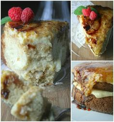 Oregon Transplant: Creme Brûlée Cake - Light and not very rich Great Desserts, Delicious Desserts, Yummy Food, Fancy Desserts, Baking Recipes, Cake Recipes, Dessert Recipes, Cheesecake Deserts, Creme Brulee Cake