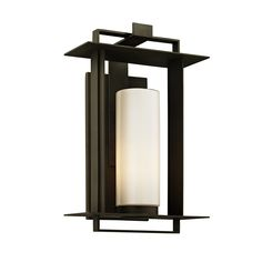 Buy the Troy Lighting Bronze Direct. Shop for the Troy Lighting Bronze Kendrick Single Light Tall Outdoor Wall Sconce with Frosted Glass Cylinder Shade and save. Outdoor Wall Lantern, Outdoor Wall Sconce, Outdoor Wall Lighting, Exterior Lighting, Wall Sconce Lighting, Outdoor Walls, Troy Lighting, Thing 1, Transitional Wall Sconces