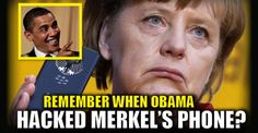 """While liberals feign outrage over (unproven) Russian hacking attacks on our election, do you think they were equally outraged when Obama had Angela Merkel's PHONE BUGGED? The incident took place in 2010 (or sooner) when Obama gave the """"OK"""" to US intelligence to listen to Merkel's phone. Outrage? The point is this, hacking, eavesdropping, and spying is a two-way street, and we drive the """"hacking highway"""" just like everyone else does. Just ask Israel how much they appreciated Obama using…"""