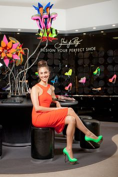 Introducing the Shoes of Prey Store at @David Nilsson Jones Store in Sydney! Visit us to win a 1000-dollar gift certificate! || Design your perfect shoes - shoesofprey.com