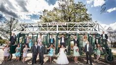 A Saratoga-style wedding!