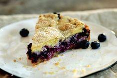 Eple- og blåbærterte med vaniljekrem Baked Goods, Cooking Recipes, Pie, Sweets, Baking, Food, Pasta, Torte, Cake