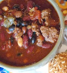 My Dad's Turkey Chili - from Souper Jenny