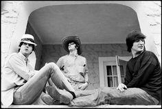 1965 - Paul McCartney, Ringo Starr and John Lennon in Help! film.