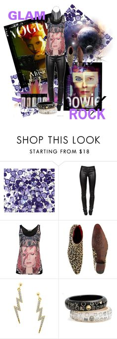 """""""Vintage Inspired - Ziggy Stardust"""" by perlamoredellamoda ❤ liked on Polyvore featuring Swarovski Crystallized, Ziggy, Helmut Lang, Faith Connexion, MTWTFSS Weekday, Jeffery-West, Betsey Johnson, MAC Cosmetics, Marc by Marc Jacobs and vintage"""