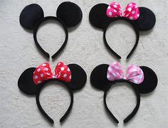 Mickey Minnie Ears to Match Your by HaruHoneyBeeCreation on Etsy