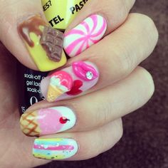 Tasty nails. Come in to redo this look! #aritumspa #nails #nailart #manicure