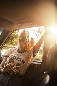 Isabella Scherer Sunset Car